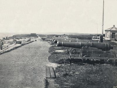 'Southwold - Gun Hill', 1895-Unknown-Framed Photographic Print