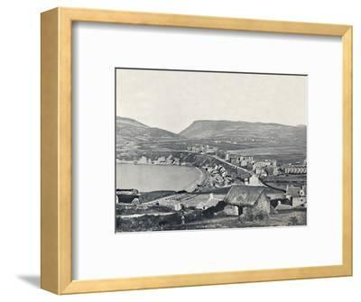 'Port Erin - Panoramic View of the Town and Its Vicinity', 1895-Unknown-Framed Photographic Print