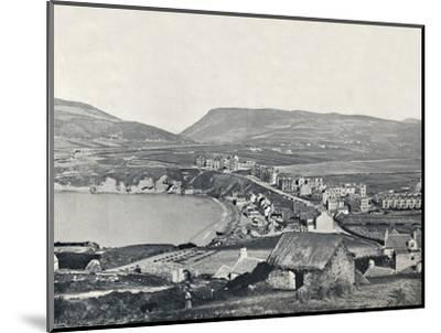 'Port Erin - Panoramic View of the Town and Its Vicinity', 1895-Unknown-Mounted Photographic Print