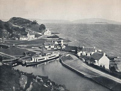 'Crinan - The Western Terminus of the Canal and the Sound of Jura', 1895-Unknown-Framed Photographic Print