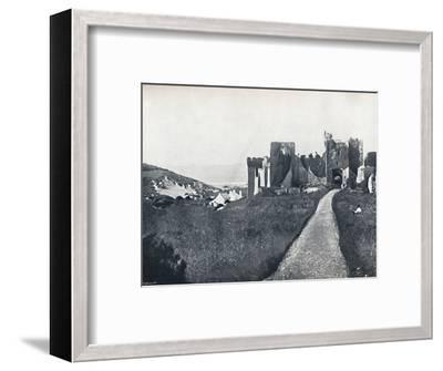 'Manorbier - The Castle', 1895-Unknown-Framed Photographic Print