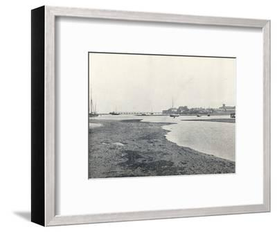 'Yarmouth (Isle of Wight) - General View', 1895-Unknown-Framed Photographic Print