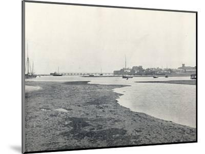 'Yarmouth (Isle of Wight) - General View', 1895-Unknown-Mounted Photographic Print