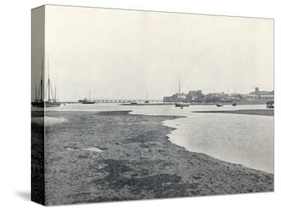 'Yarmouth (Isle of Wight) - General View', 1895-Unknown-Stretched Canvas Print