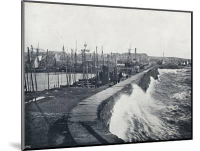 'Arbroath - From the Harbour', 1895-Unknown-Mounted Photographic Print