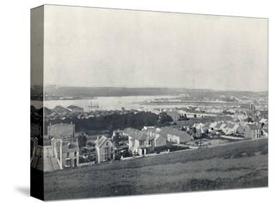 'Milford Haven - General View of the Town and the Haven', 1895-Unknown-Stretched Canvas Print