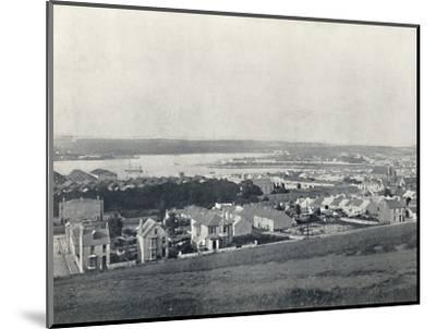 'Milford Haven - General View of the Town and the Haven', 1895-Unknown-Mounted Photographic Print