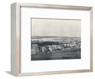 'Milford Haven - General View of the Town and the Haven', 1895-Unknown-Framed Photographic Print