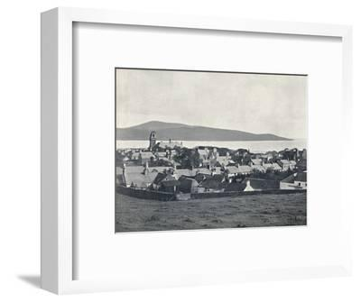 'Wigtown - From the Martyrs' Monument', 1895-Unknown-Framed Photographic Print