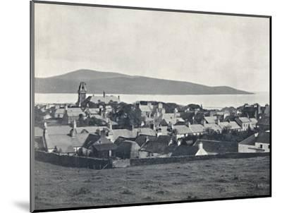 'Wigtown - From the Martyrs' Monument', 1895-Unknown-Mounted Photographic Print