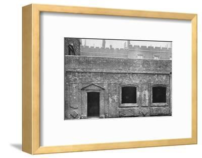 'Charterhouse. Exterior of Cloister Alley', 1925-Unknown-Framed Photographic Print