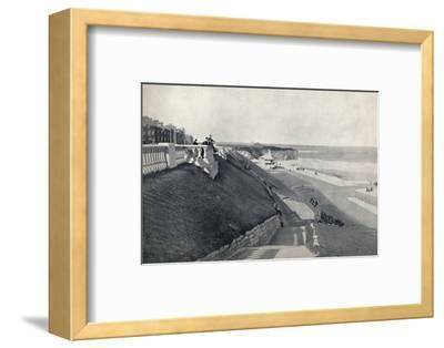 'Roker - The Beach, from the Terrace', 1895-Unknown-Framed Photographic Print