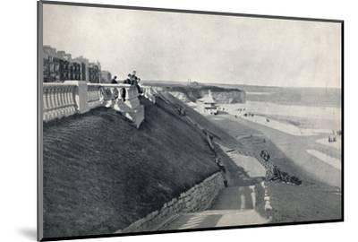 'Roker - The Beach, from the Terrace', 1895-Unknown-Mounted Photographic Print