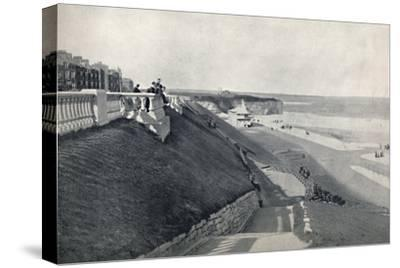 'Roker - The Beach, from the Terrace', 1895-Unknown-Stretched Canvas Print