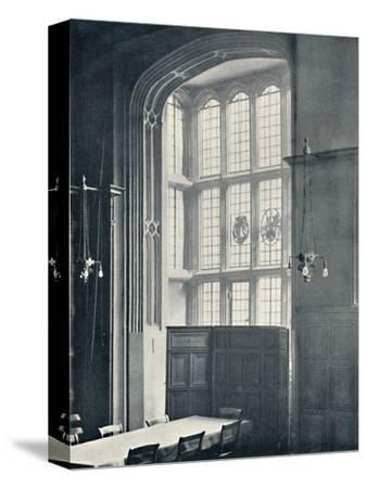 'Charterhouse. Interior of Bay in the Dining Hall', 1925-Unknown-Stretched Canvas Print