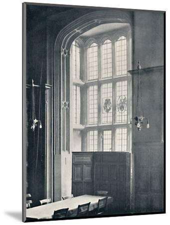 'Charterhouse. Interior of Bay in the Dining Hall', 1925-Unknown-Mounted Photographic Print