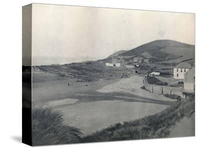 'Barnstaple - Croyde Bay', 1895-Unknown-Stretched Canvas Print