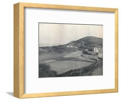 'Barnstaple - Croyde Bay', 1895-Unknown-Framed Photographic Print