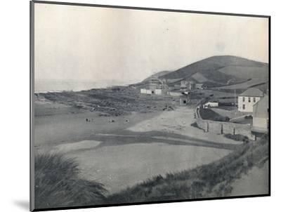 'Barnstaple - Croyde Bay', 1895-Unknown-Mounted Photographic Print