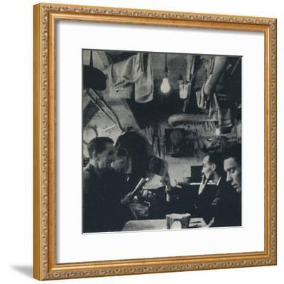 'Functional use of space on the mess deck', 1941-Cecil Beaton-Framed Photographic Print