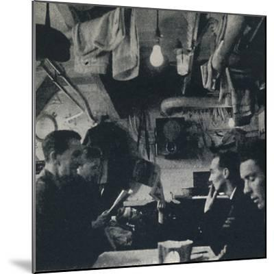 'Functional use of space on the mess deck', 1941-Cecil Beaton-Mounted Photographic Print