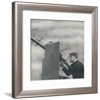 'Mark over!', 1941-Cecil Beaton-Framed Photographic Print
