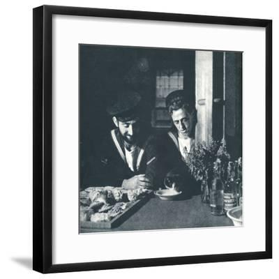 'Soft drinks', 1941-Cecil Beaton-Framed Photographic Print
