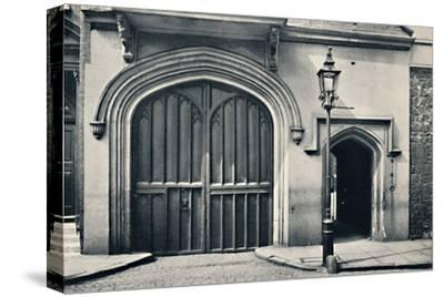 'Charterhouse. Exterior of Entrance Gateway', 1925-Unknown-Stretched Canvas Print