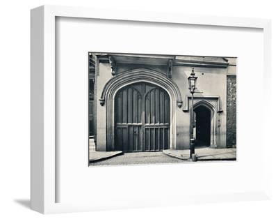 'Charterhouse. Exterior of Entrance Gateway', 1925-Unknown-Framed Photographic Print