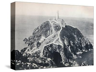 'Holyhead - The South Stack, Lighthouse', 1895-Unknown-Stretched Canvas Print