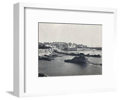 'St. Monan's - From the West', 1895-Unknown-Framed Photographic Print