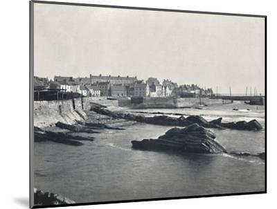 'St. Monan's - From the West', 1895-Unknown-Mounted Photographic Print