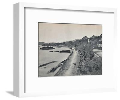 'Glengarriff - The Esplanade', 1895-Unknown-Framed Photographic Print
