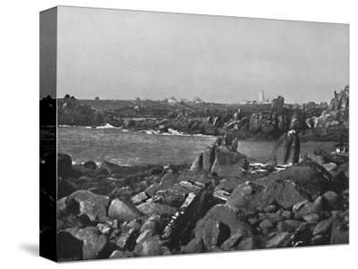 'Scilly Islands - the Cove and Lighthouse, St. Agnes', 1895-Unknown-Stretched Canvas Print