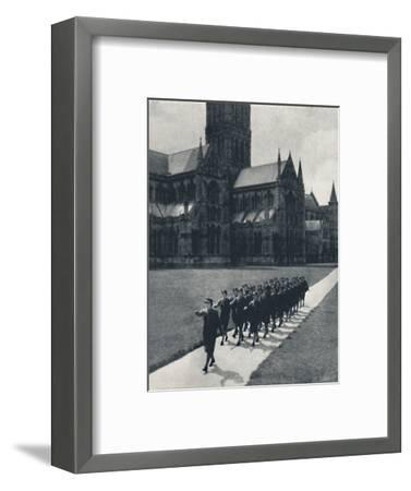 'Church parade', 1941-Cecil Beaton-Framed Photographic Print