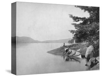 'Lake George', 19th century-Unknown-Stretched Canvas Print