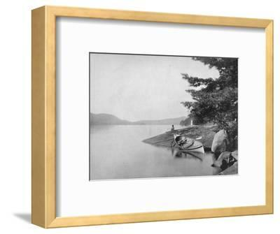 'Lake George', 19th century-Unknown-Framed Photographic Print