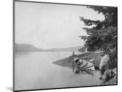 'Lake George', 19th century-Unknown-Mounted Photographic Print