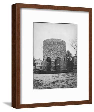 'The Round Tower at Newport', c1892-Unknown-Framed Photographic Print
