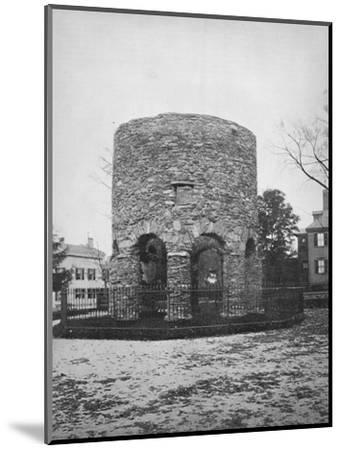 'The Round Tower at Newport', c1892-Unknown-Mounted Photographic Print