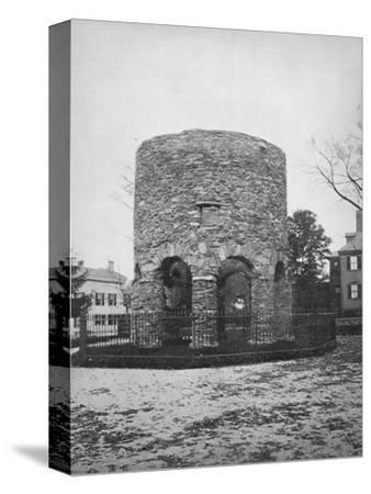'The Round Tower at Newport', c1892-Unknown-Stretched Canvas Print