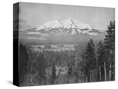 'Mount Shasta', 19th century-Unknown-Stretched Canvas Print