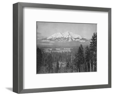 'Mount Shasta', 19th century-Unknown-Framed Photographic Print