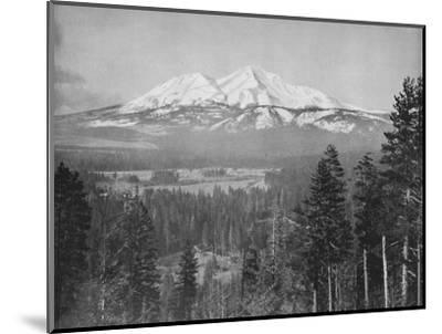 'Mount Shasta', 19th century-Unknown-Mounted Photographic Print