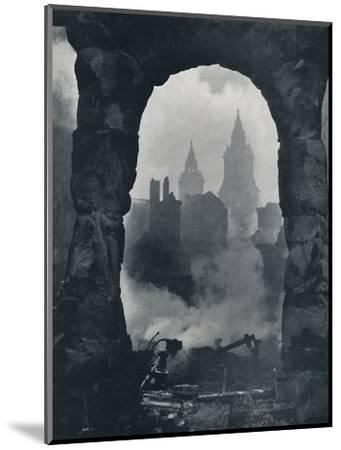 'Apocalypse', 1941-Cecil Beaton-Mounted Photographic Print