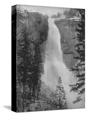 'Nevada Fall in the Yosemite Valley', 19th century-Unknown-Stretched Canvas Print