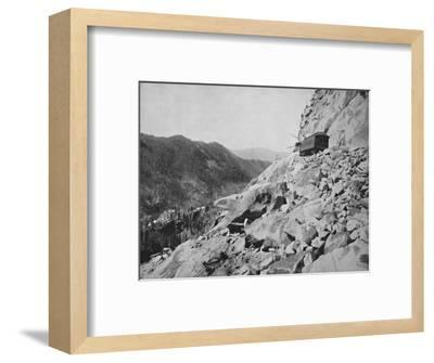 Hellgate, in Colorado', 19th century-Unknown-Framed Photographic Print
