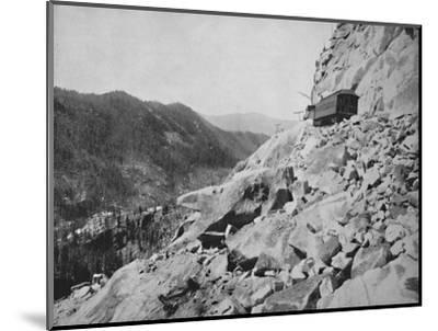Hellgate, in Colorado', 19th century-Unknown-Mounted Photographic Print