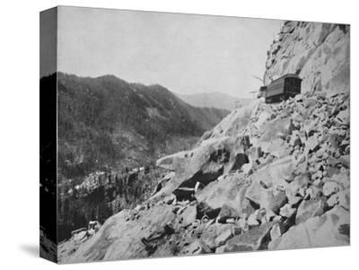 Hellgate, in Colorado', 19th century-Unknown-Stretched Canvas Print