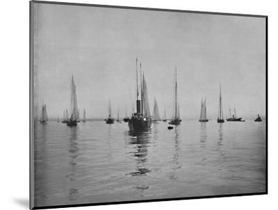 'New York Bay', 19th century-Unknown-Mounted Photographic Print